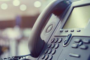 電話業務が必要な場合